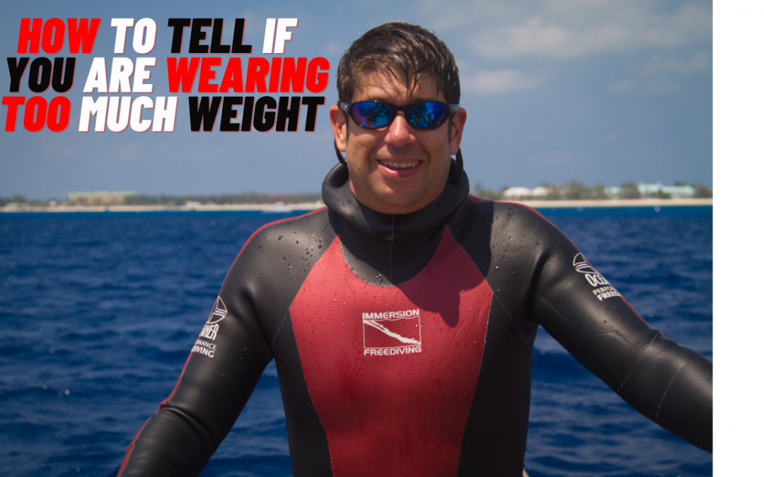 Freediving Safety – are you wearing too much weight?